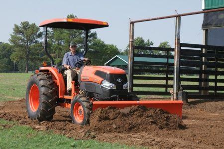 Kubota L2172A L Series Tractors Blade