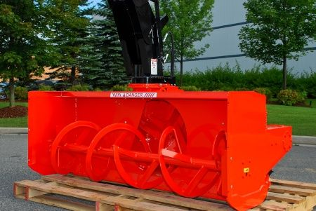 Kubota L2480 L Series Snowblower