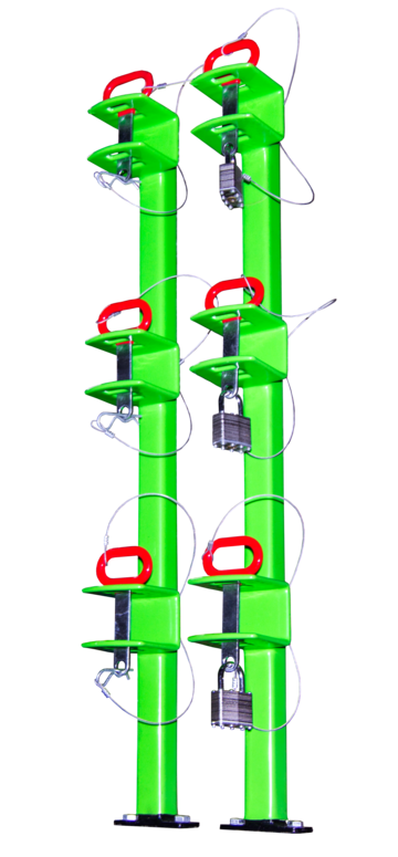 Green Touch Classic Series 3 Position Trimmer Rack LB012 for Open Trailers