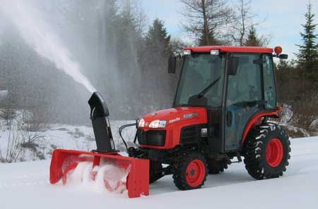 Kubota B2781B Snowblower