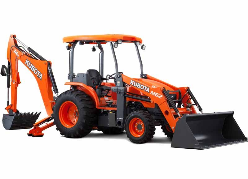 Kubota M Series Tractor Loader Backhoe M62TLB