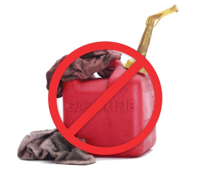 Maintenance free: no gas, no oil - just press and go.