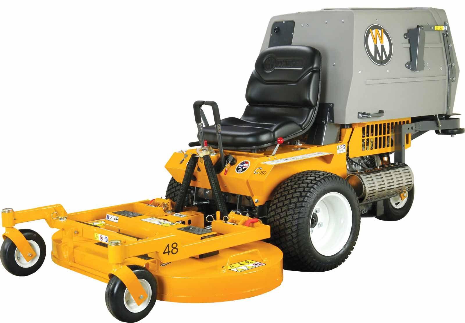 Walker Mowers MC19i Grass-Handling Gas EFI Mower 19HP