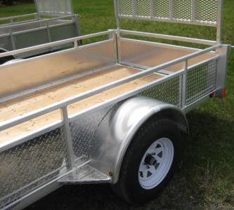 5' x 10' Millroad single axle trailer
