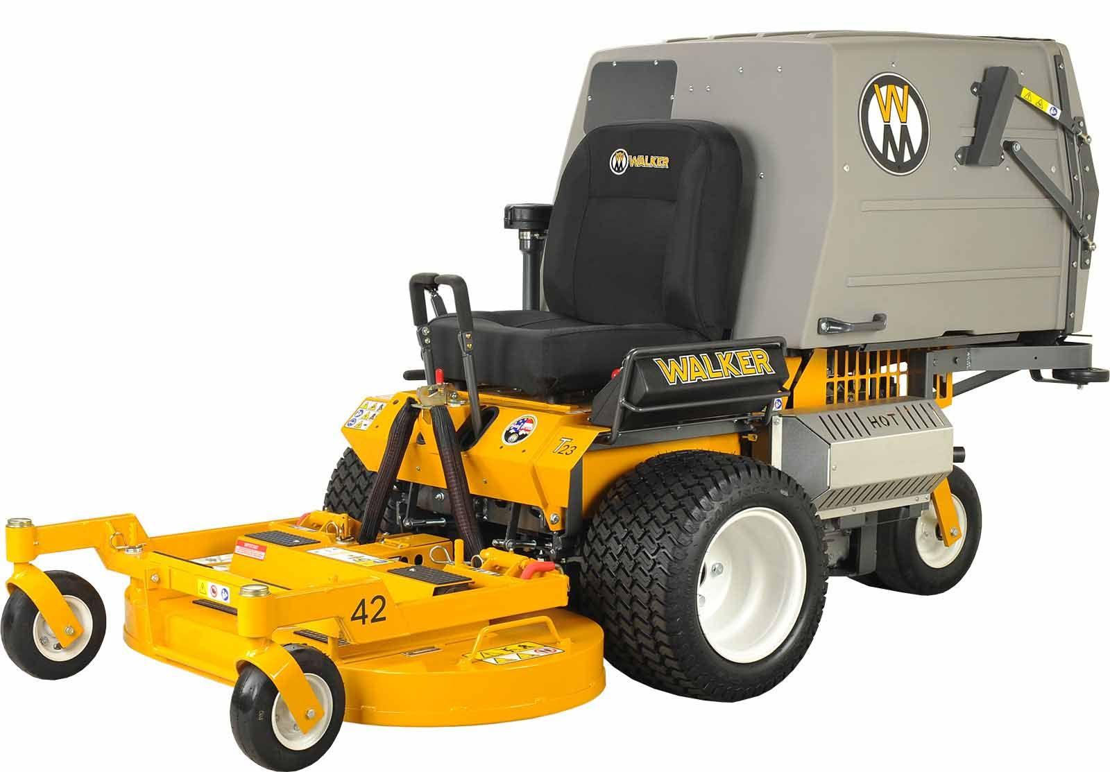 Walker Mower MT23GHS grass handling