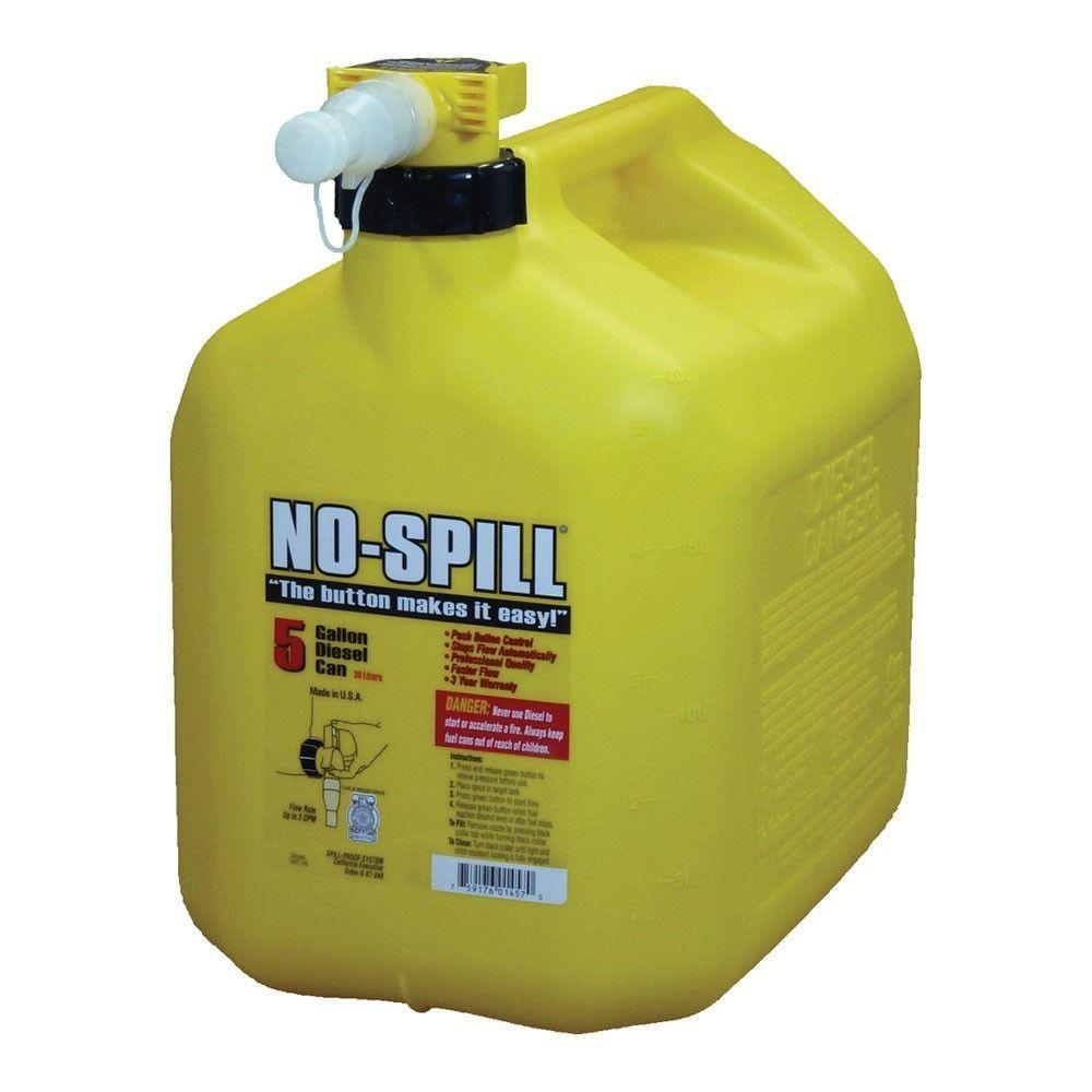 Stens 20L Diesel No-Spill Gas Can