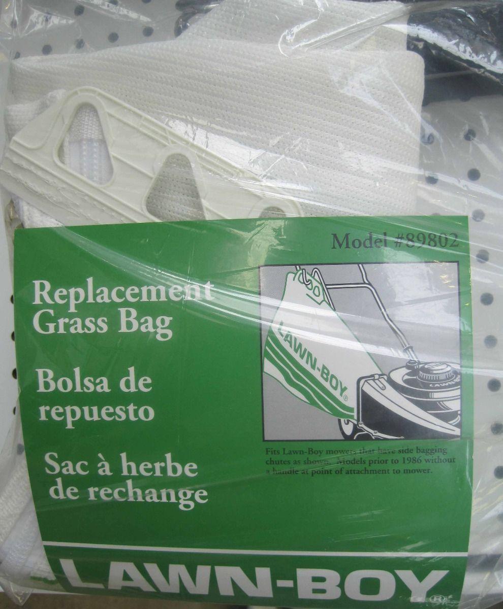 Older model Lawnboy side replacement grass bag