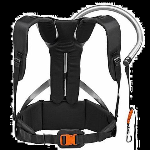 Optional shoulder strap/harness