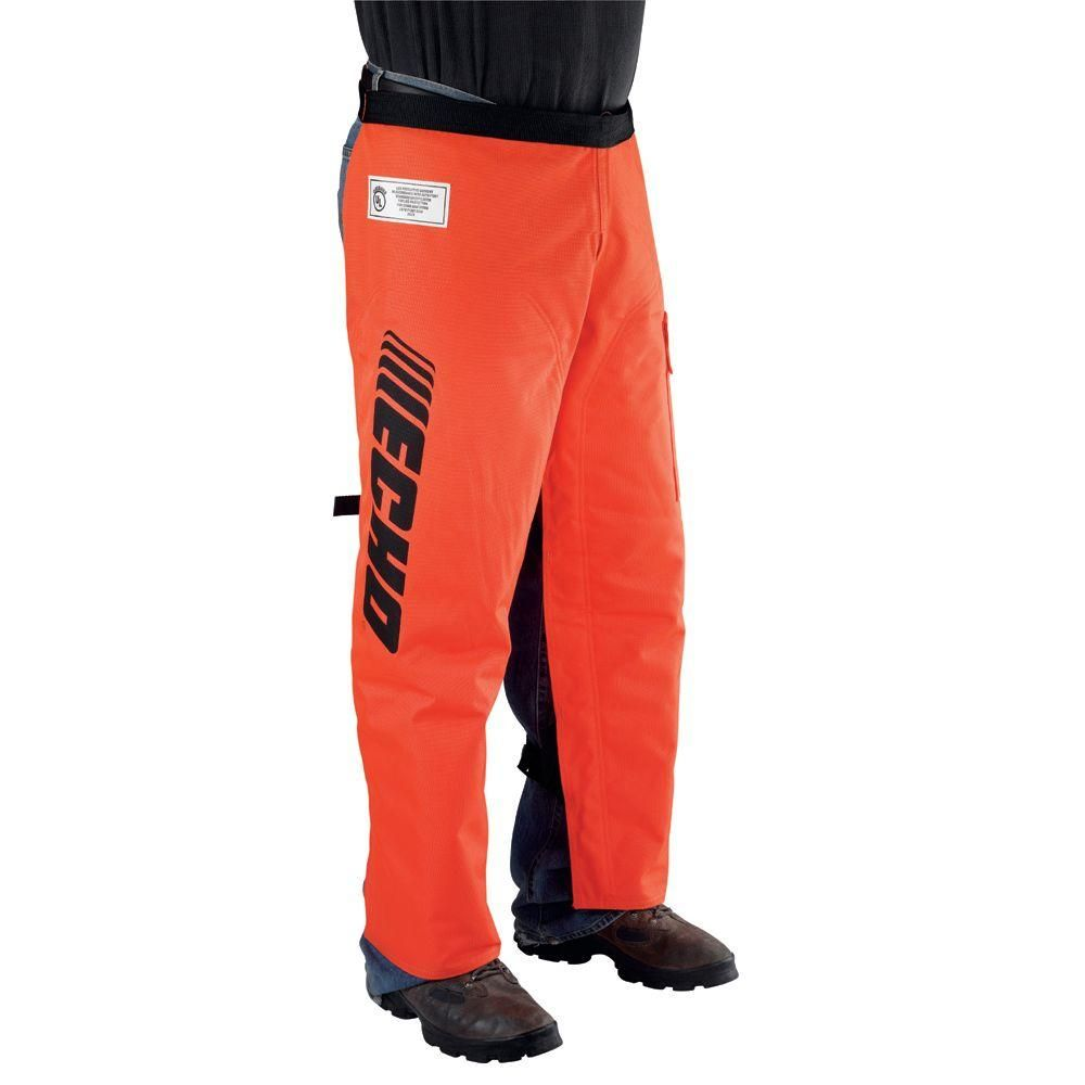 ECHO chainsaw safety chaps 36""