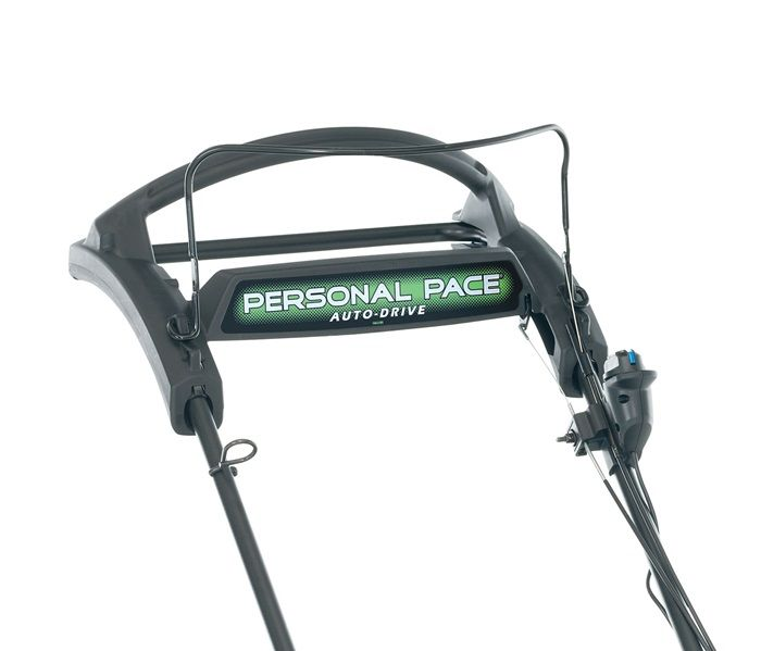 Personal Pace Auto-Drive - No levers, no adjustments, no learning - the self-propel, evolved.