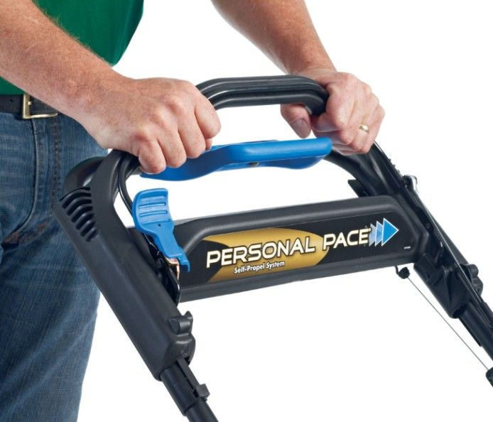 Personal pace with traction assist handle