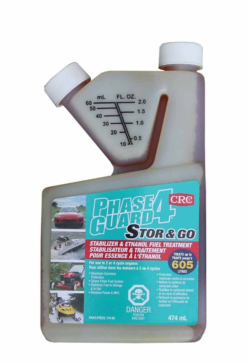 Phase Guard 4 Ethanol Fuel Treatment 474mL bottle