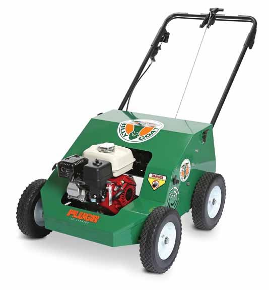 "Billy Goat Reciprocating Aerator with Mechanical Drive PL2500H 25"" Wide with Honda Engine 163cc"
