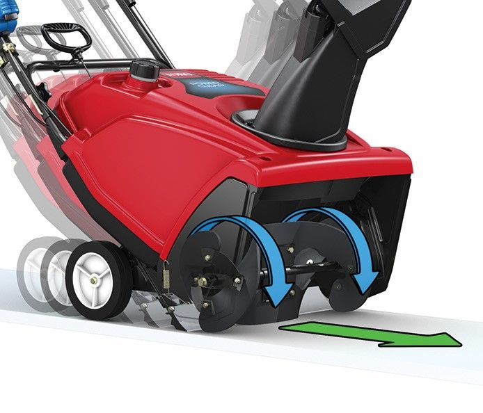 Power Propel Drive System on Toro 721E Snowblower