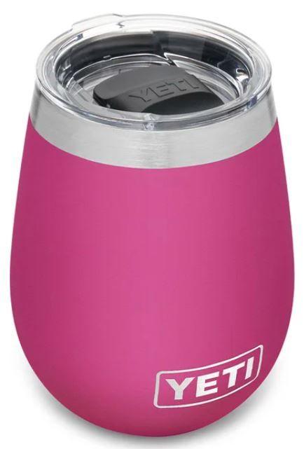 YETI Wine Rambler Tumbler 10oz in Prickly Pear Pink
