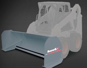 SnowEx 8' Skid Steer Pusher TX77880