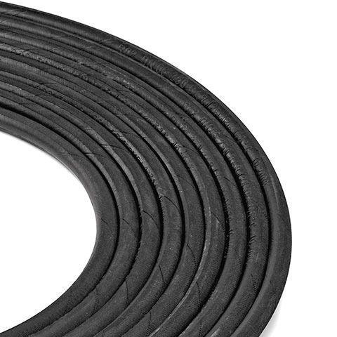 Steel reinforced high pressure hose