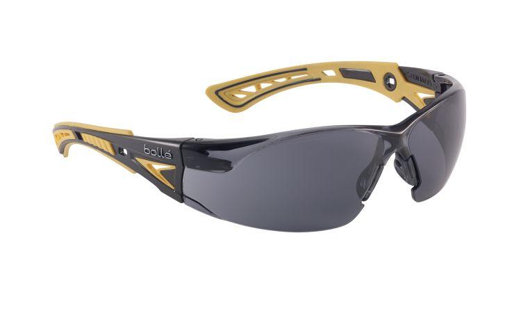 Bolle Safety Glasses RUSH+ Smoke