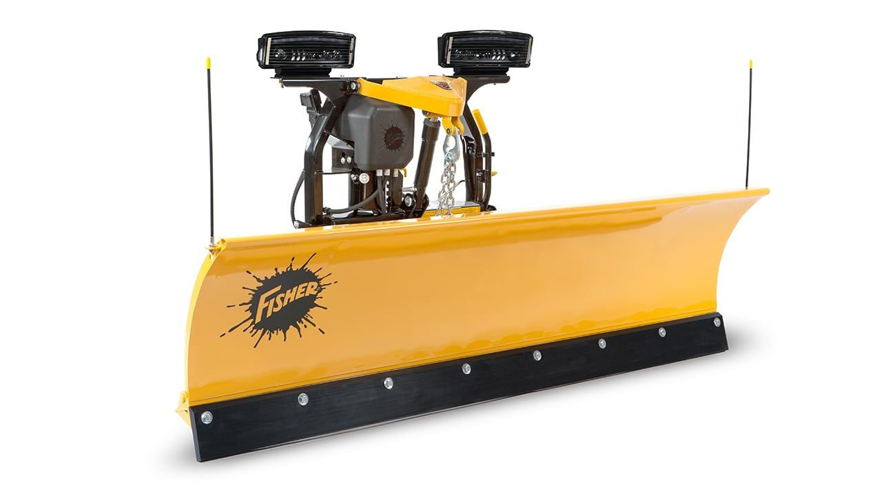 "Fisher 7'6"" Fleet Flex SD Plow"