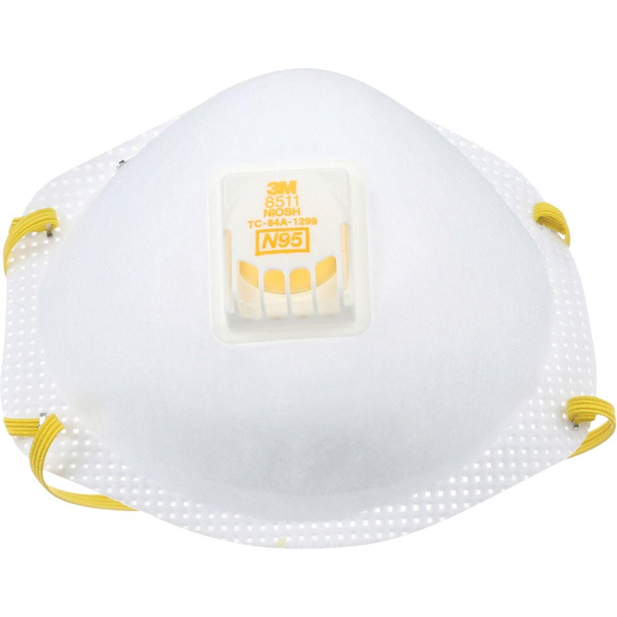 3M N95 Particulate Respirators 10 Count