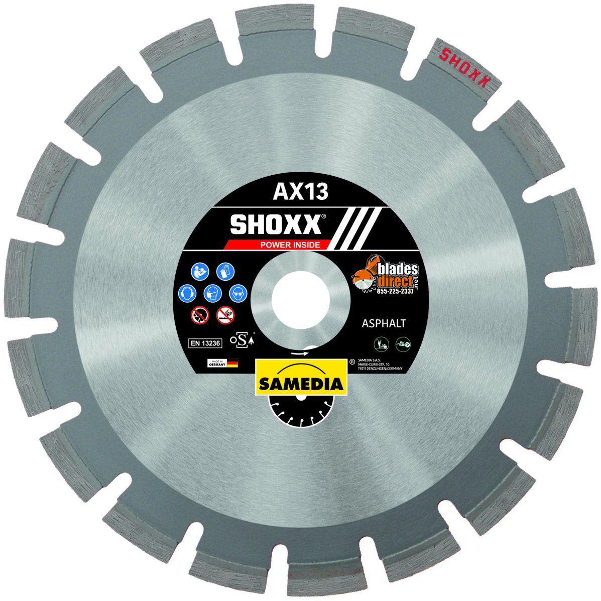 Samedia SHOXX AX13 Diamond Blade