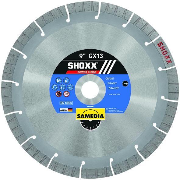 Samedia SHOXX GX13 Diamond Blade