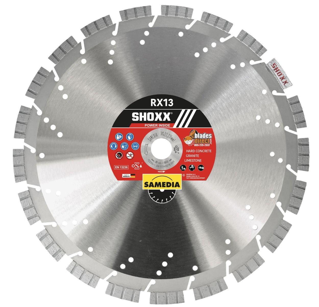 Samedia SHOXX RX13 Diamond Blade