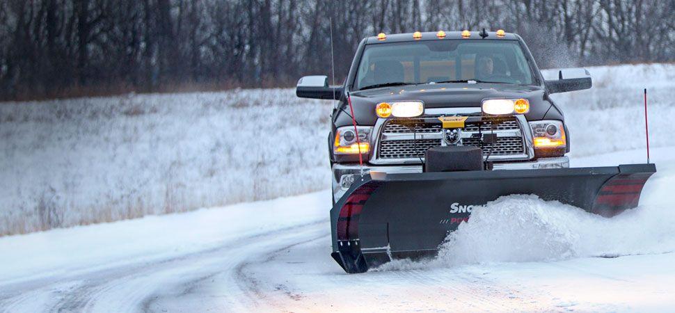 SnowEx 8100 Power Plow 8'-10'