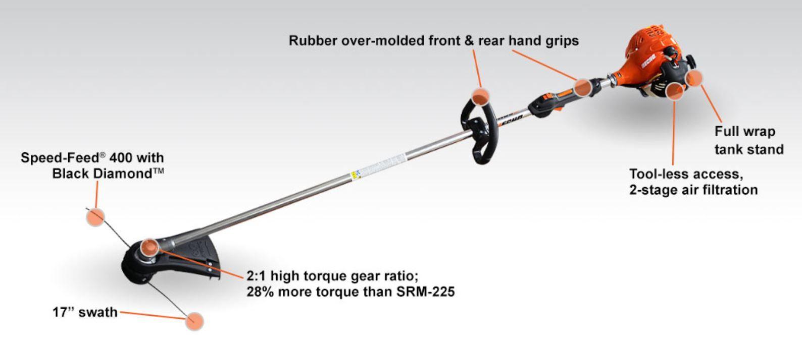 ECHO SRM-2320T Straight Shaft Trimmer