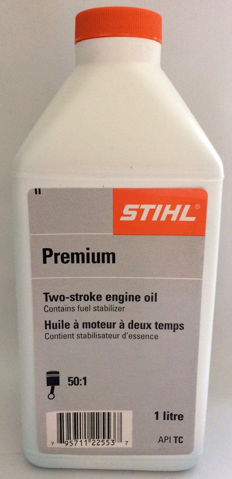 STIHL 2 stroke engine oil 1 litre bottle