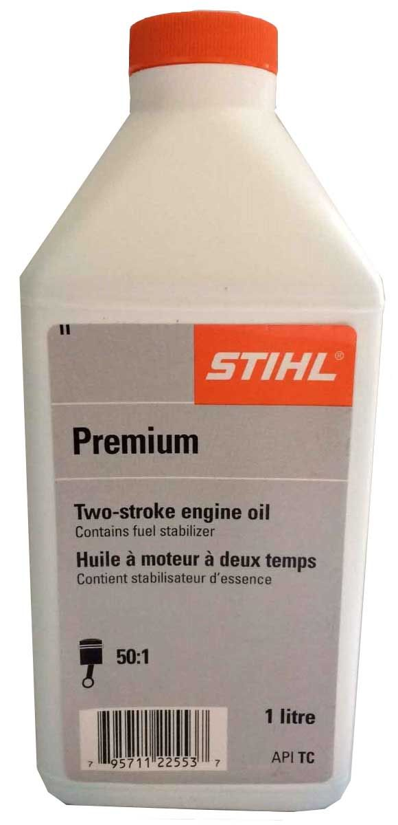 STIHL 2 stroke engine oil 1 litre bottle