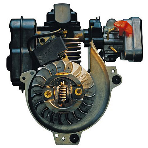 STIHL 4 MIX engine