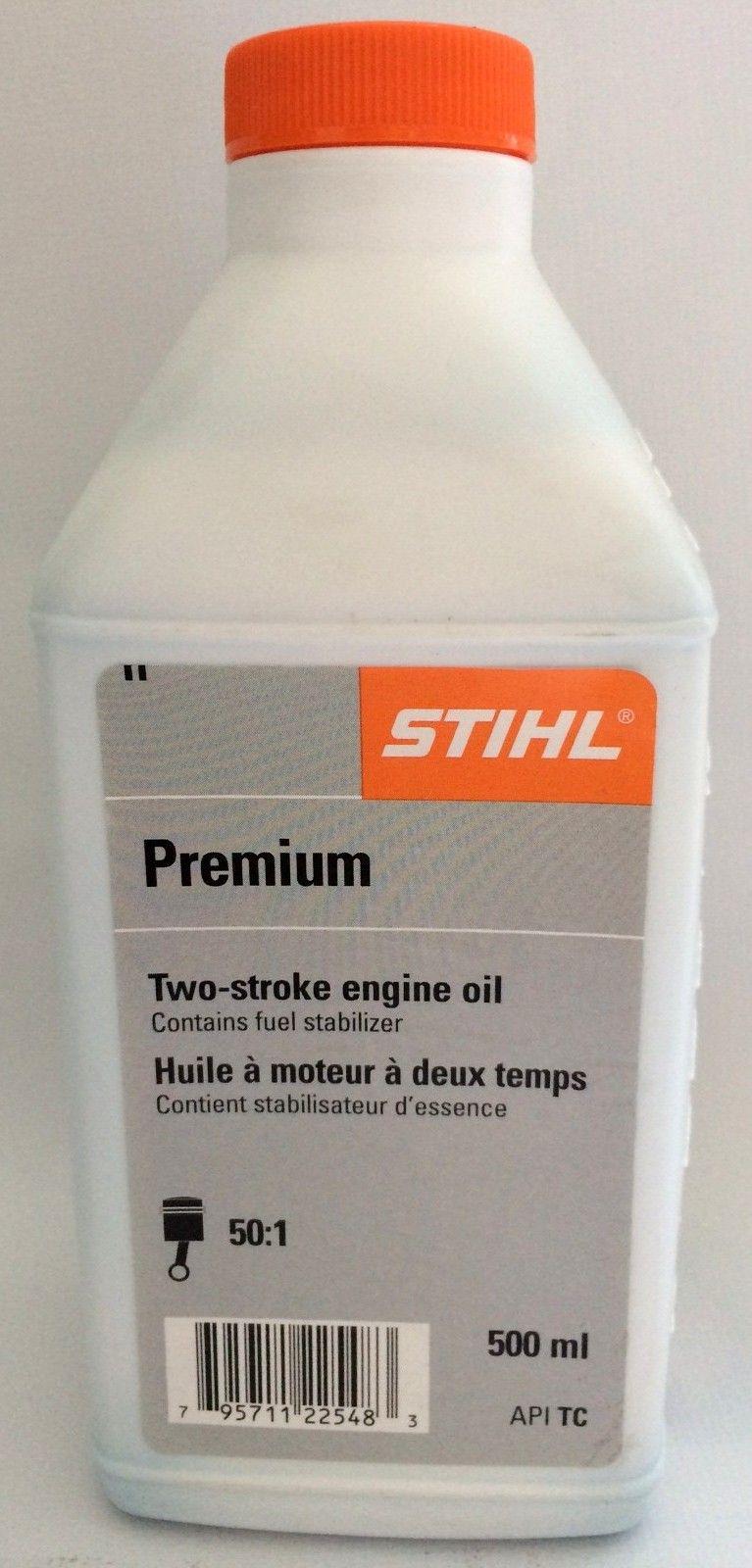 STIHL 500mL bottle of Premium 2-stroke engine oil