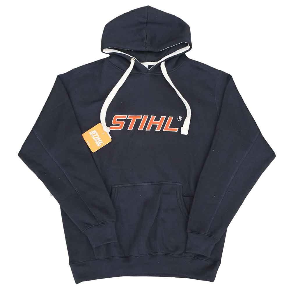 STIHL Black Super Heavyweight Hooded Sweatshirt