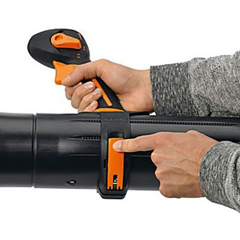 The handle position can be quickly changed without any tools for an optimal fit with the size of the user.