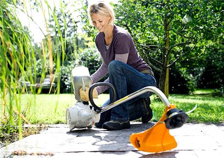 STIHL FS 50 C-E perfect for homeowner use!