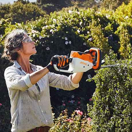 STIHL HSA 56 S In Action