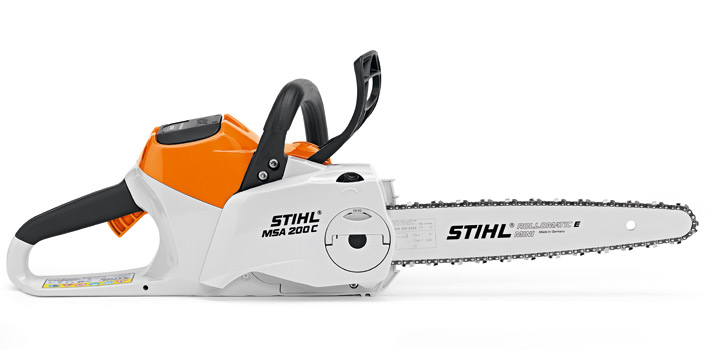 STIHL MSA 200 C-BQ Lithium Ion Battery Powered Chainsaw