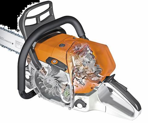 STIHL M-Tronic Engine