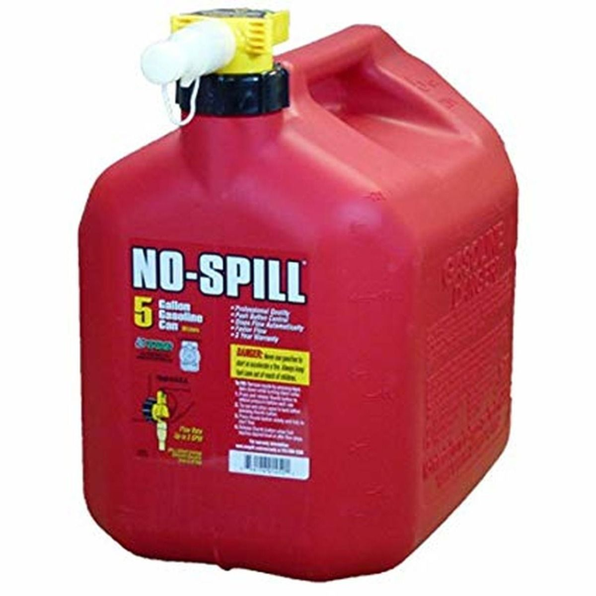 Stens 20L Regular No-Spill Gas Can