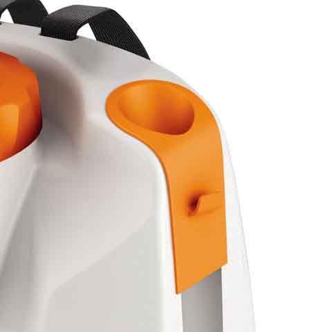 Integrated spray tube holder