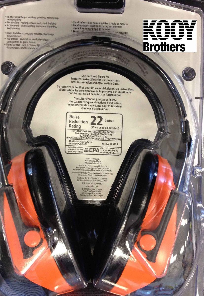 STIHL Worktunes Radio Hearing protection