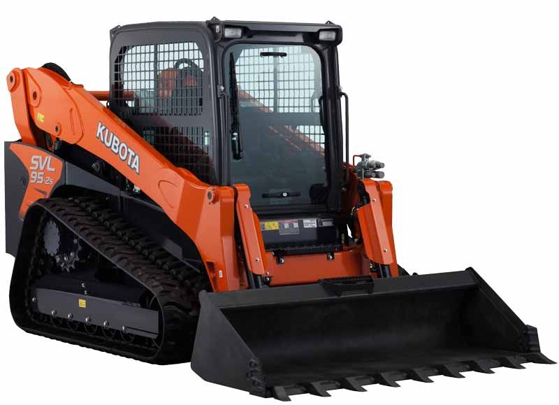Kubota SVL95-2S Self Track Loader Skid Steer 96.4 HP