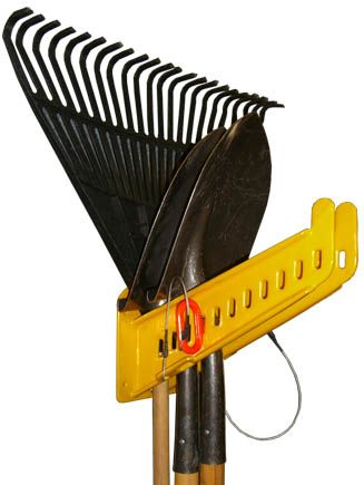 Green Touch Hand Tool Rack can secure up to 10 hand tools