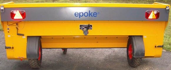 TKB12-280 Towed Road Speed Related Epoke Spreader