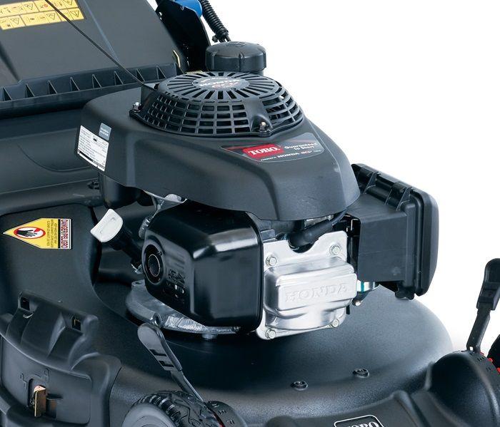 Great power with a Honda® GCV 160cc OHC engine.