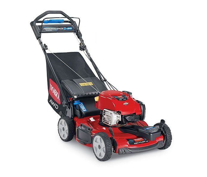 "Toro Recycler Mower 20353 22"" with Personal Pace Self-Propel and All-Wheel Drive"