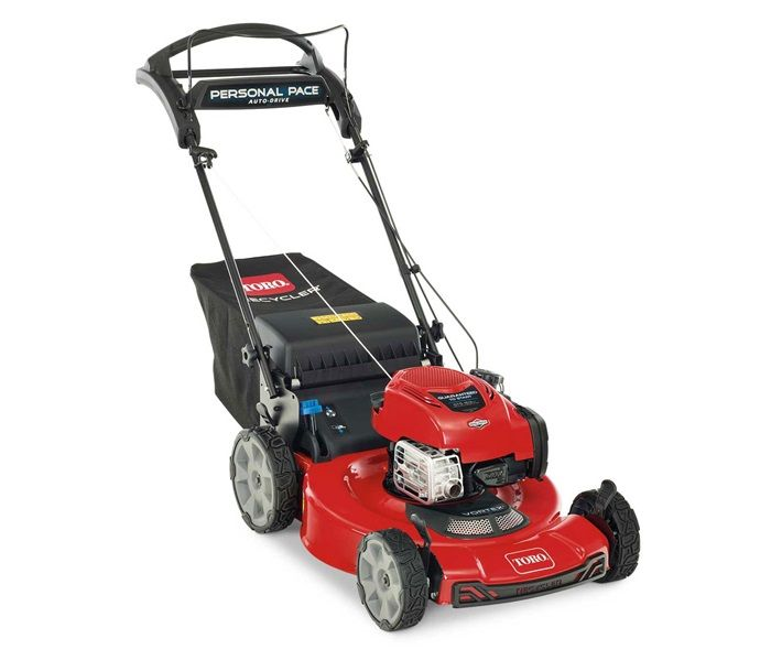 Toro 21462 Personal Pace Mower with High Back Wheels
