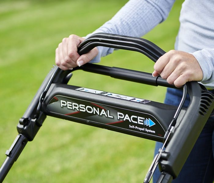 Have pinpoint control over your mowing speed with Toro's exclusive Personal Pace® Self-Propel System, which allows you to adjust your speed at will up to 4.8 MPH.