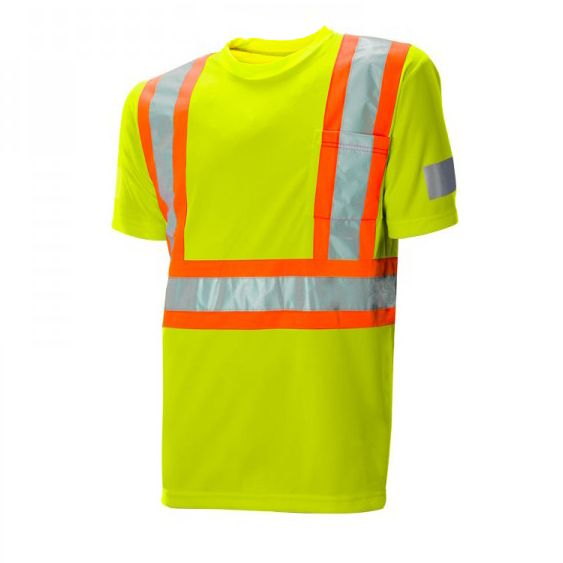 Short Sleeve Reflective Traffic T-Shirt